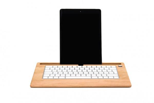 TabletTray aus Kirschbaumholz