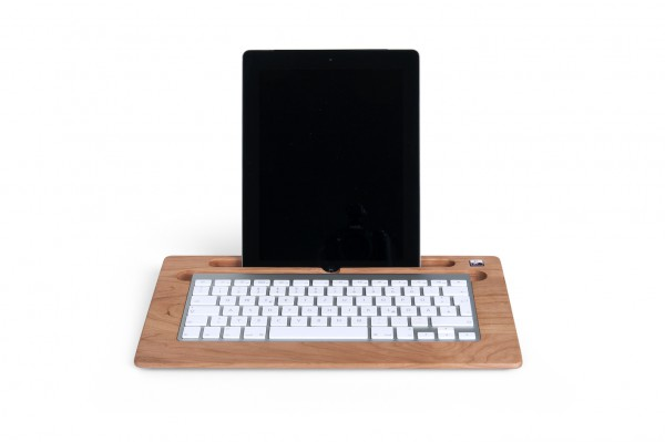 TabletTray (2015 model) made out of Cherry wood
