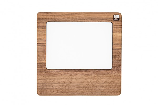 Trackpad MonoTray made out of Walnut wood