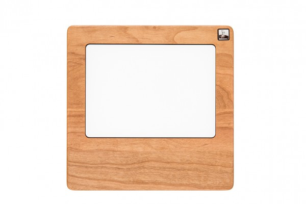 Trackpad MonoTray made out of Cherry wood