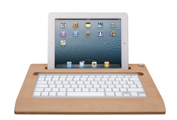 TabletTray (2012 model) made out of Beech wood